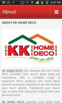 KK Home Deco screenshot 2