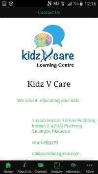 Kidz V Care screenshot 4