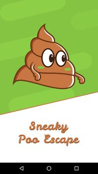 Sneaky Poo Escape poster