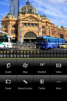Melbourne - Appy Travels poster