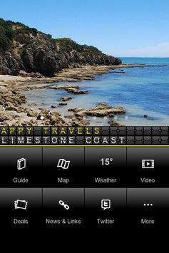 Limestone Coast - Appy Travels poster