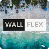 WallFlex - HD/4K Oreo wallpapers for Android™ icon