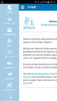 Grieks Restaurant Apollo apk screenshot