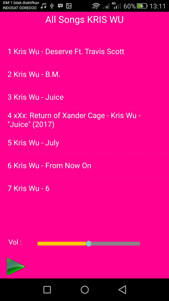 Kris Wu Songs For Android Apk Download