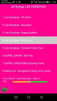 LEE DONGHAE Songs screenshot 2