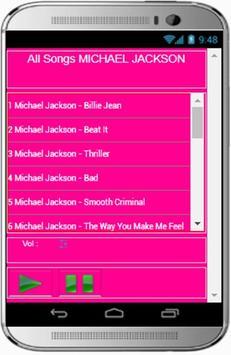 MICHAEL JACKSON Songs and Ost apk screenshot