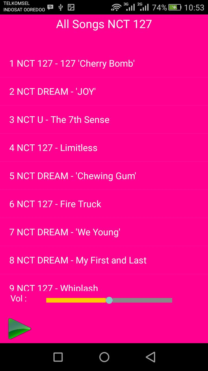 All Songs NCT 127 for Android - APK Download