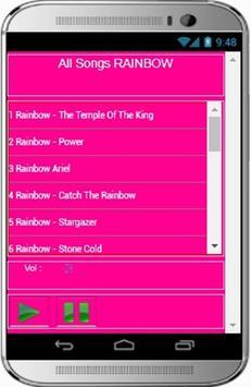 RAINBOW Songs apk screenshot