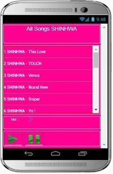 SHINHWA Songs screenshot 1