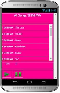 SHINHWA Songs screenshot 2