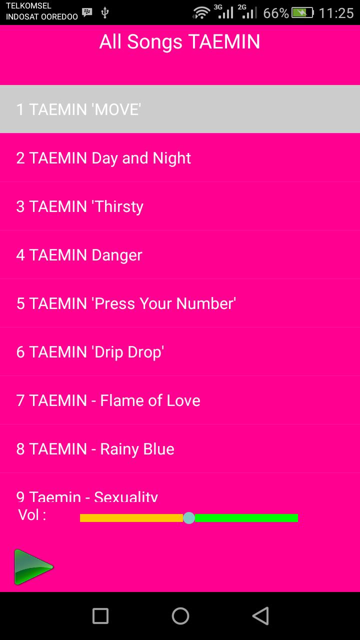 TAEMIN Songs for Android - APK Download