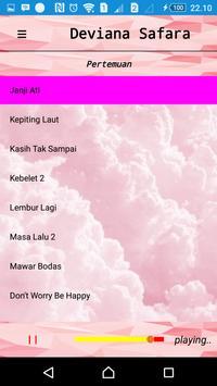 Lagu DEVIANA SAFARA Terbaru apk screenshot