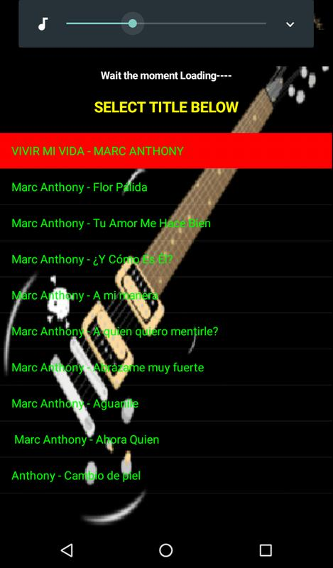 Vivir mi vida | marc anthony – download and listen to the album.