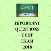IMPORTANT QUESTIONS CTET EXAM 2018 icon