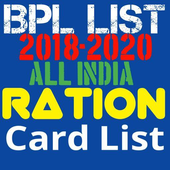 BPL Ration Card List Online All India icon