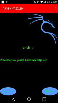Linux Komutları apk screenshot