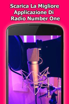 Radio Number One gratis online in Italia screenshot 2
