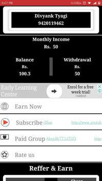 Click And Earn apk screenshot