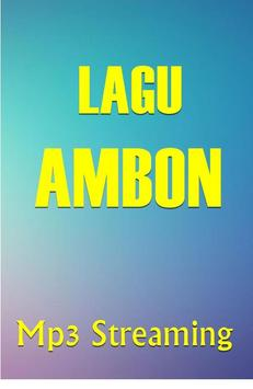 Lagu AMBON MANISE poster