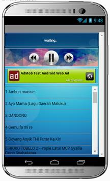 Lagu AMBON MANISE apk screenshot