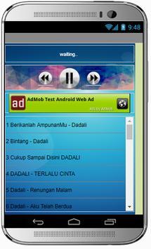 Lagu BAND DADALI POPULER apk screenshot
