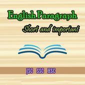 English short paragraph icon