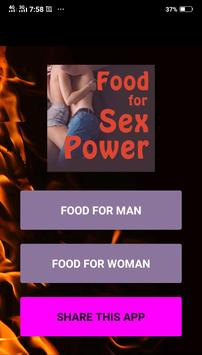 Food for Sex Power poster