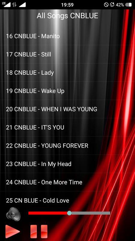 In my head single cnblue.