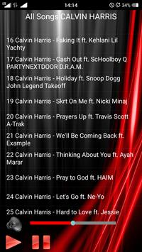 All Songs CALVIN HARRIS screenshot 3