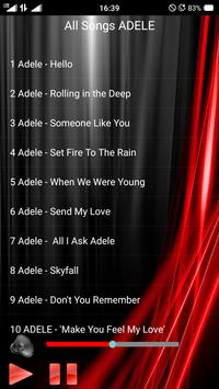 All Songs ADELE apk screenshot