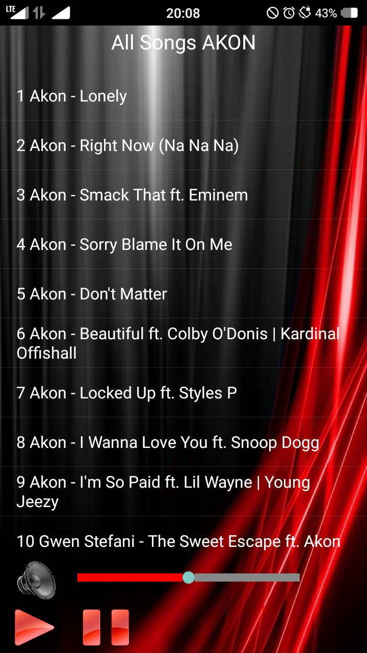 All Songs AKON for Android - APK Download