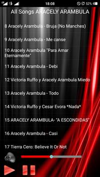 All Songs ARACELY ARAMBULA screenshot 2