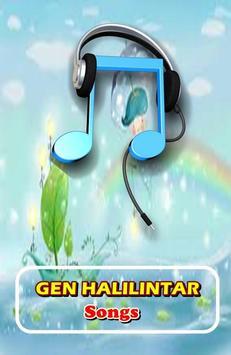 GEN HALILINTAR SONGS poster