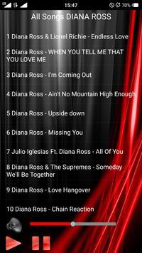 All Songs DIANA ROSS screenshot 1