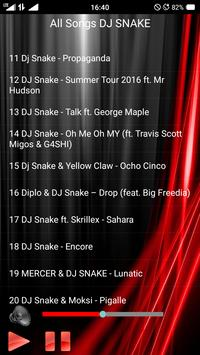 All Songs DJ SNAKE screenshot 2