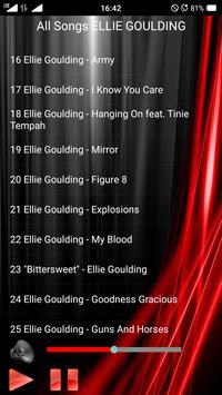All Songs ELLIE GOULDING screenshot 3