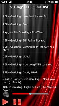All Songs ELLIE GOULDING screenshot 1