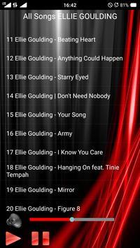 All Songs ELLIE GOULDING screenshot 2