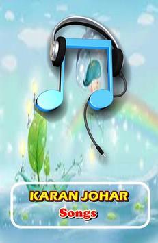 KARAN JOHAR Songs poster