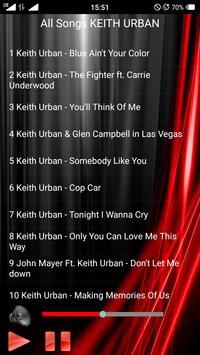 KEITH URBAN Songs screenshot 1