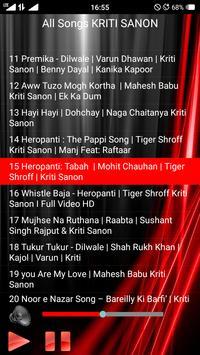 All Songs KRITI SANON screenshot 2