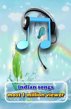 Indian Songs Most 1 Million Viewer apk screenshot