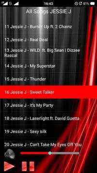 All Songs JESSIE J apk screenshot