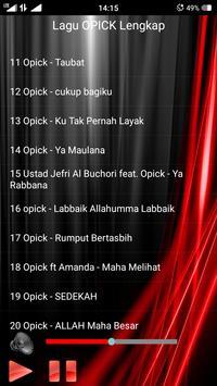Lagu OPICK Lengkap apk screenshot