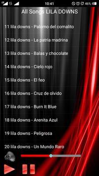 All songs LILA DOWNS screenshot 2