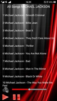 All Songs MICHAEL JACKSON screenshot 1