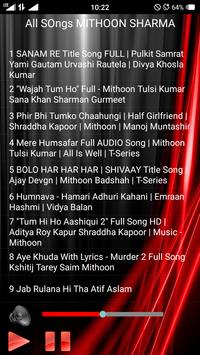 All Songs MITHOON apk screenshot