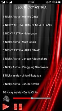 Lagu NICKY ASTRIA Lengkap screenshot 1