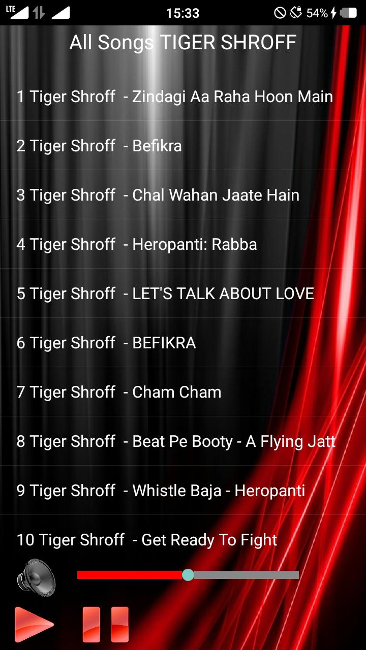TIGER SHROFF Songs for Android - APK Download