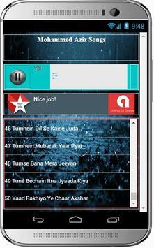 Mohammed Aziz Super Hit Songs apk screenshot